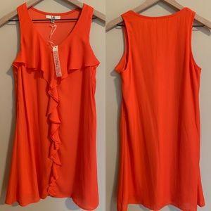 Ya Los Angles Women's Ruffle Dress NWT